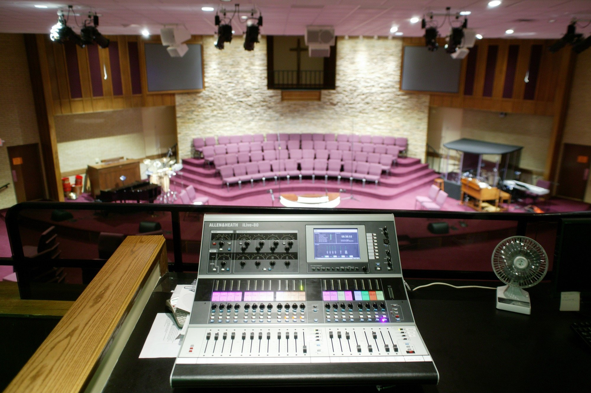 Church Sound System Installation Pittsburgh Sound Rental